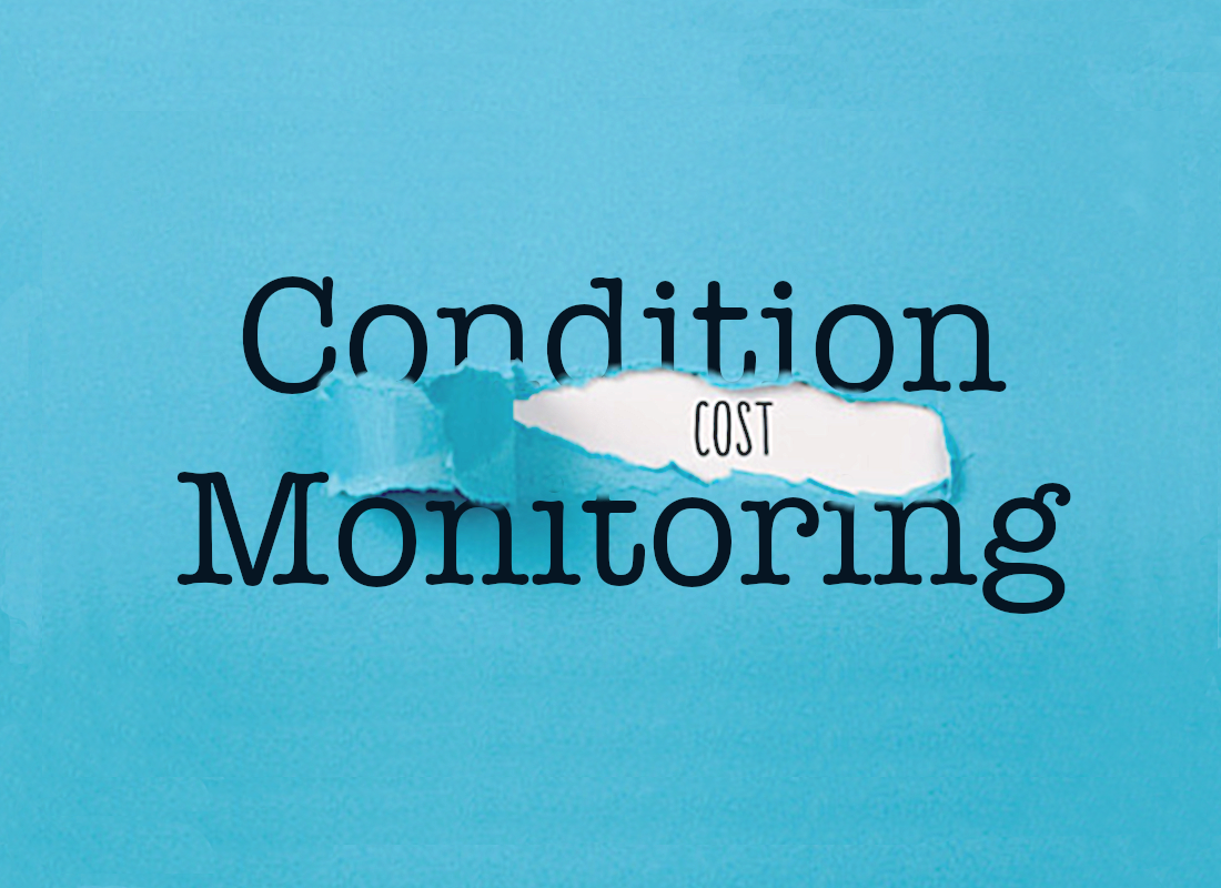 cost of condition monitoring illustration